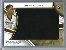 Damian Jones 15/16 Panini Immaculate Collection Game Used Jersey #06/14