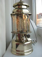 "ANTIQUE Sweden KEROSENE LANTERN gas LAMP ""Radius 119"" BRASS"