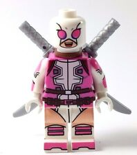Custom Minifigure Marvel X-Men GWENPOOL with free LEGO brick.UK