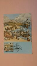 Australia First Day Cover 1987 The First Fleet Card #16