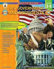 U.S. Government and Presidents, Grades 3 - 5 (Skills for Success), Gamble, Amy,