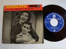 """JOSELITO: El emigrante - B.O. film LE CHEVAL BLANC 7"""" EP 1963 RCA VICTOR 86.733"""