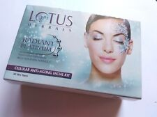 Lotus Herbals Radiant Platinum Cellular Anti-Ageing Facial Kit 37 gm