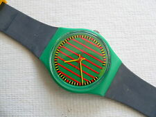 1986 swatch watch Clubstripe No Date GG101