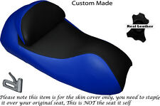BLACK & ROYAL BLUE CUSTOM FITS YAMAHA YP 400 MAJESTY 04-06 FRONT SEAT COVER