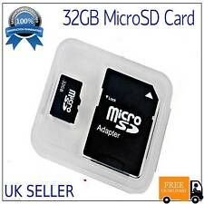 32GB Class 10 Micro SD Memory Card TF Flash for Mobiles,Tab,Camera UK SELLER