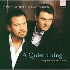 DAVID DANIELS & CRAIG OGDEN - A Quiet Thing SONGS FOR VOICE AND GUITAR