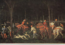 BF14829 oxford united kingdom a stag hunt by night painting front/back image