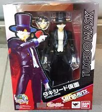 Bandai S.H.Figuarts SHF Pretty Guardian Sailor Moon Tuxedo Mask Action Figure
