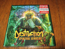 "DESTRUCTION ""Spiritual Genocide""Ltd CD Digibook + Patch sodom kreator"