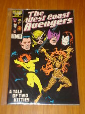 WEST COAST AVENGERS #16 VOL 1 MARVEL COMIC JANUARY 1987