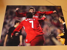 Neil Mellor Signed 16x12 Liverpool FC Photo - Olympiakos Goal - Private Signing