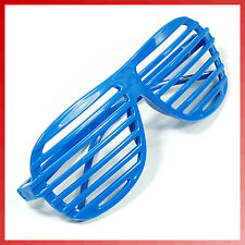 New 1PC Blue Full Shutter Glasses Shades Sunglasses Club Party
