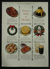 Guinness Guide To Christmas 1955 Page Advert Advertising