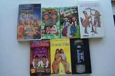 Mary-Kate & Ashley Olsen VHS 7 Video Tape Lot