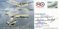 Error JS(CC)50hx 80th Anniv of the RAF Air To Air Refuelling  signed by 5 VC's