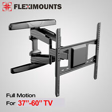 "Articulating LCD LED Full motion TV Wall Mount Bracket 37"" 40"" 42"" 46"" 50 55 60"""