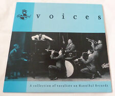 Voices - A collection of vocalists on Hannibal Records  UK VINYL COMPILATION LP
