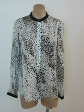DKNY Button Down Long Sleeve Shirt Top S Small NWT