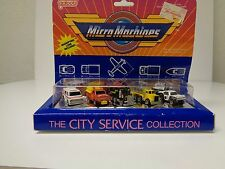 Vintage 1987 Micro Machines Galoob The city service collection sealed