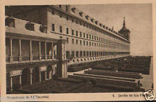 POSTAL MONASTERIO EL ESCORIAL . JARDIN FRAILES . HAUSER Y MENET . TIENDA CC2827