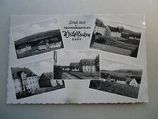Ansichtskarte Wildflecken Rhön Truppenübungsplatz Kaserne 1960 er ? Ortsansicht