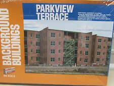 WALTHERS~BACKGROUND KIT ~PARKVIEW TERRACE BUILDING KIT~SEALED~HO SCALE