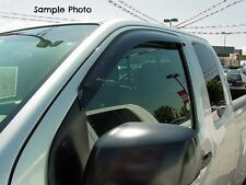 Tape-on Vent Shades 2 piece for a Chevrolet Silverado Standard Cab 2007 - 2013