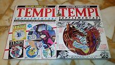 TEMPI SUPPLEMENTARI Collezione Periodica vol. I e II Primo Carnera Editore 1987
