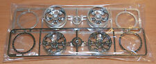 Tamiya 58415 Toyota Tundra Highlift, 9335526/19335526 V Parts (Wheels, 4 Pcs.)