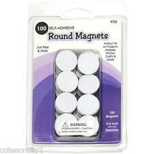 """Quilled CREAZIONI-Magneti rotondi (100 autoadesiva, 3/4 """" / 19mm Diametro)"""
