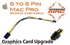  Cable alimentation carte graphique Mac Pro 6 pin/6 PCIe connecteur adaptateur