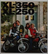 1976 HONDA XL350& XL250  Original SALES BROCHURE XL-250 XL-350