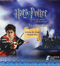 HARRY POTTER PRISONER AZKABAN CARDS INC WAX BOX CARDS CARD 36 CT