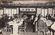 WESTMINSTER, MA ~ DINING ROOM in the OLD MILL, MILE 2 on the MOHAWK TRAIL ~c1940