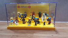 Lego figurine set display case disney série 16 simpsons batman jaune base