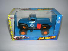 Maisto Fresh Metal 4 x 4 Rebels Chevrolet Pickup blau blue 11,5 cm