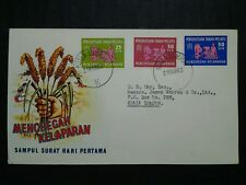 Malaysia 1963 Federation Of Malaya Freedom From Hunger FDC NO Broucher/Insert(2)