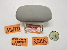 05 06 07 08 09 10 COBALT LEFT RIGHT BACK REAR SEAT HEAD REST GREY CLOTH CAR L R