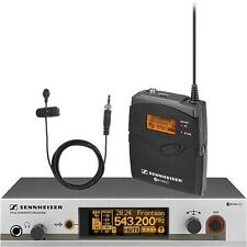 Sennheiser EW312 G3 Wireless Bodypack Microphone System with ME2 Lavalier Mic
