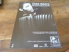 TOM WAITS - FRANKS WILD YEARS!!!!!!!FRENCH PRESS ADVERT