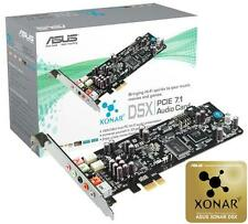 New ASUS Xonar DSX Dolby DTS 7.1 Channel Game PCI-E 3D Audio Sound Card