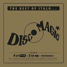 THE BEST OF ITALO... DISCO MAGIC - 4LP+3CD +PHOTOBOOKLET NUOVO SIGILLATO