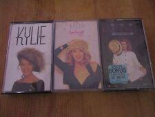 BULK Kylie Minogue RETRO compilation MIX cassette Tape tapes x 3