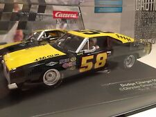 Carrera 27461 Evolution Dodge Charger 500 #58 Analog 1/32 Scale Slot Car
