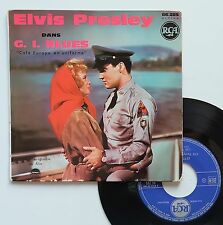"Vinyle 45T Elvis Presley   ""G.I. blues - Tonight's all right for love"""