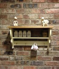 Shabby Chic/Country Kitchen/Cabinet/shelf Unit/wall Unit In Cream