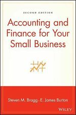 Accounting and Finance for Your Small Business by Edwin Burton, E. James...
