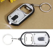 3 in 1 Bar Beer Bottle Opener LED Light Lamp Camping Key Chain Keychain WB
