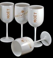 MOET CHANDON ICE IMPERIAL CHAMPAGNE GLASSES X 4 UNBOXED  NEW DESIGN 2016